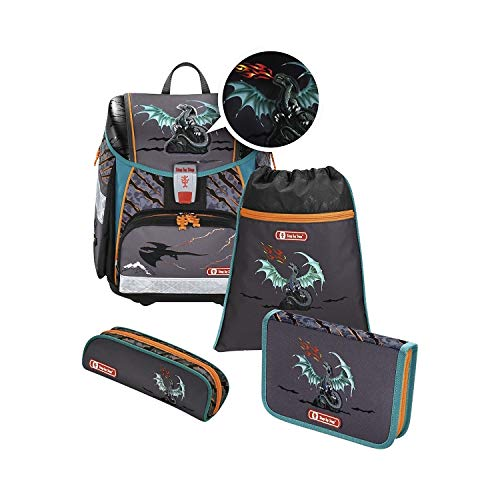 Step by Step 4-TLG. Schulranzenset Limited Edition Touch 2 Flash Polyester 21 l