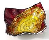 Denk Platos Cristal Mars-Cuenco Decorativo Rojo (953311)