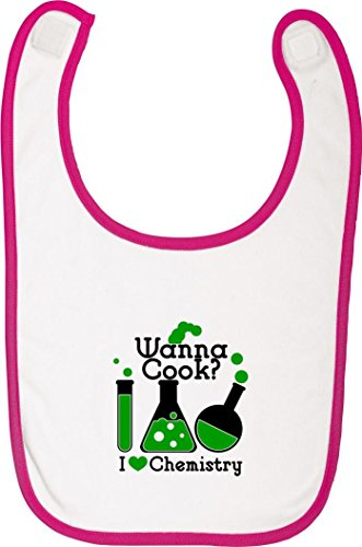 Fetziger Babylatz Wanna Cook? Reagenzglas I love Chemistry, Farbe rosa