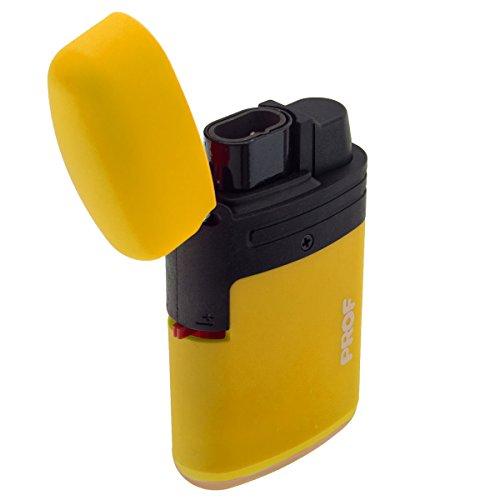 Sturmfeuerzeug Prof Gasfeuerzeug in verschiedenen bunten Farben (Gelb)
