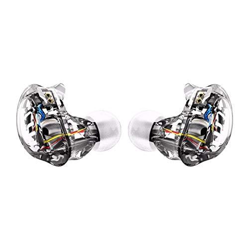 LRWEY In Ear Kopfhörer, V10 EarHIFI 8-Ring Ring Iron Headphone Subwoofer verkabelt kein Mikrofon, für iPhone, iPad, Samsung, Huawei, Xiaomi und mehr