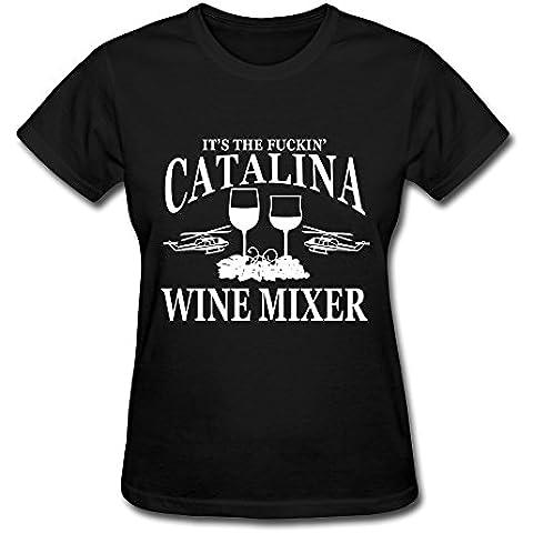 Women's It's The Fuckin' Catalina Wine Mixer T-shirtYILIAX11637XXXX-L