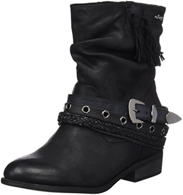 MTNG Damen Wendy Stiefel Schwarz 2018 Letztes Modell  Mode Schuhe Billig Online-Verkauf