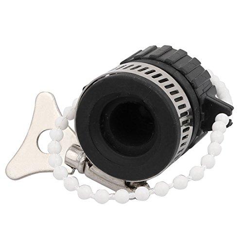 X-Dr Kunststoff - verstellbarer 17mm - Gewindesprühschlauch - Düsenadapteranschluss Schwarz (03edcaefa2c5ee18fa54ebf99fc12aeb)
