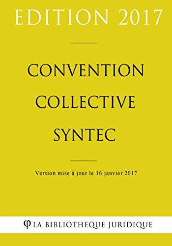 Convention collective Syntec par La Bibliothèque Juridique