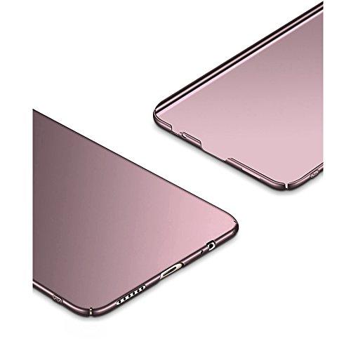 Huawei Mate 10 lite hülle, Hard Case PC Protective Cover Back Matte Bumper Ultra-Thin Lightweight Anti-Scratch Anti Slip Ultra Slim Skin mate 10 lite case Roségold