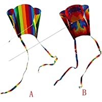 FZSWD Llegada Niños Colorido Mini Bolsillo Cometa Diversión Deportes al Aire Libre Software Cometa Vuelo Dropshipping