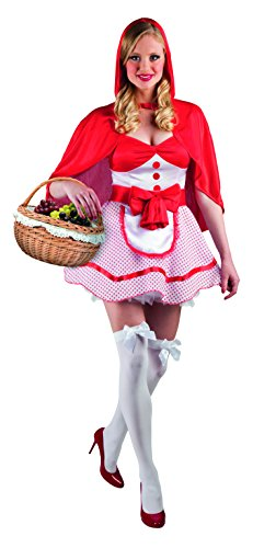 Boland 83560 - Cappuccetto Rosso Sexy Costume Donna, Rosso, S (36/38)