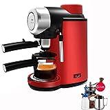 Kaffeemaschine,Kaffeevollautomat,Elektrofilter Espressomaschine Automatische Italienisch Halbautomatischer Hochdruckdampf 5bar Cappuccino-schaum Milchschaum