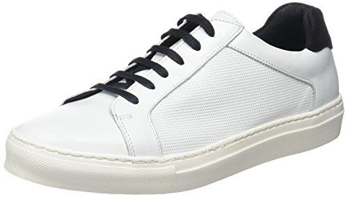 IKKSWhite Sneakers - Basse Uomo , bianco (Bianco (Blanc)), 44 EU