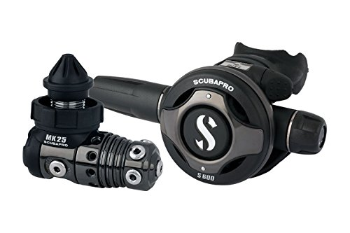 SCUBAPRO - Regulador mk25/s600 black tech din300, color negro