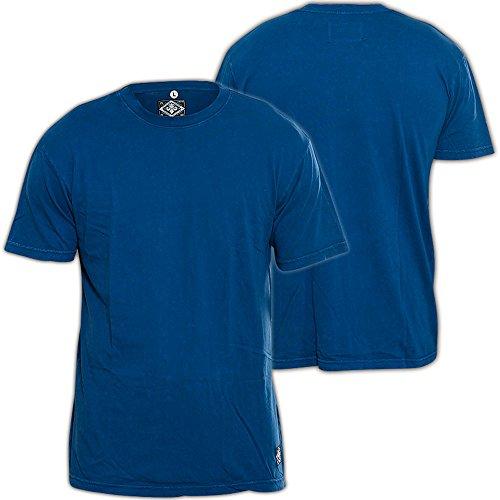 Affliction T-Shirt Standard Blau Blau