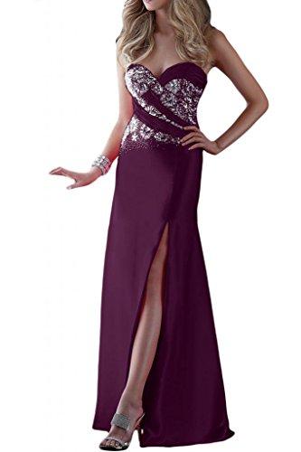 Toscana sposa stanotte mode general-case kraftool Satin stanotte vestiti a forma di cuore per Party Ball Bete vestimento Uva