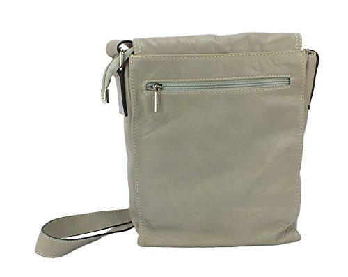 Eastline sac à main en cuir-dimensions :  env. 30 x 24 cm Beige - Beige