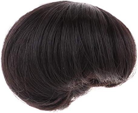 Fenteer Perruque Naturelle Cheveux Raides/ Bouclés Cheveux Raides/ Cheveux Tête De Poupée pour Girl Dolls Ou Autres Poupées B07L7LR7CN 8bdff4