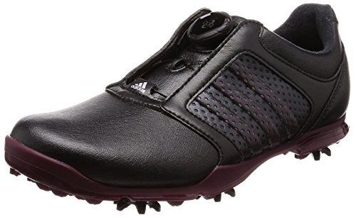 Adidas W Adipure BOA, Chaussures de Golf Femme, Noir (Black F33641), 36 EU