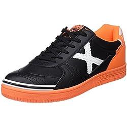 Munich G-3 Indoor, Zapatillas de Deporte Unisex Adulto, Multicolor (Black/Orange 799), 41 EU