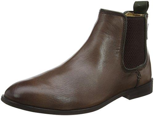 Ben Sherman Chelsea, Bottes Classiques homme Marron - Brown (Brown 002)