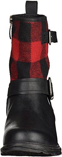 Tamaris 1-25949-33 femmes Bottine noir/rouge