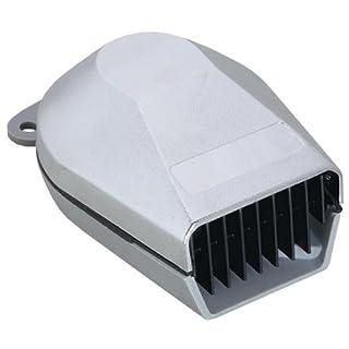 Attwood 11474-3 White Plastic Marine Low Profile Horn