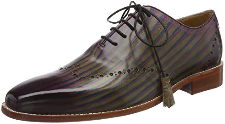 Melvin&Hamilton Nicolas 1, Zapatos de Cordones Derby para Hombre -