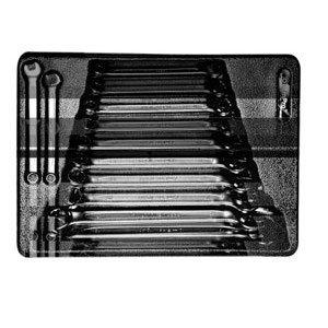 Ampro T40180 Clés Mixtes 6 à 19, Set de 12