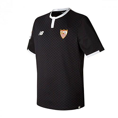 Camisa Sevilla FC MC 3ª 2017-2018 Negro Talla XL