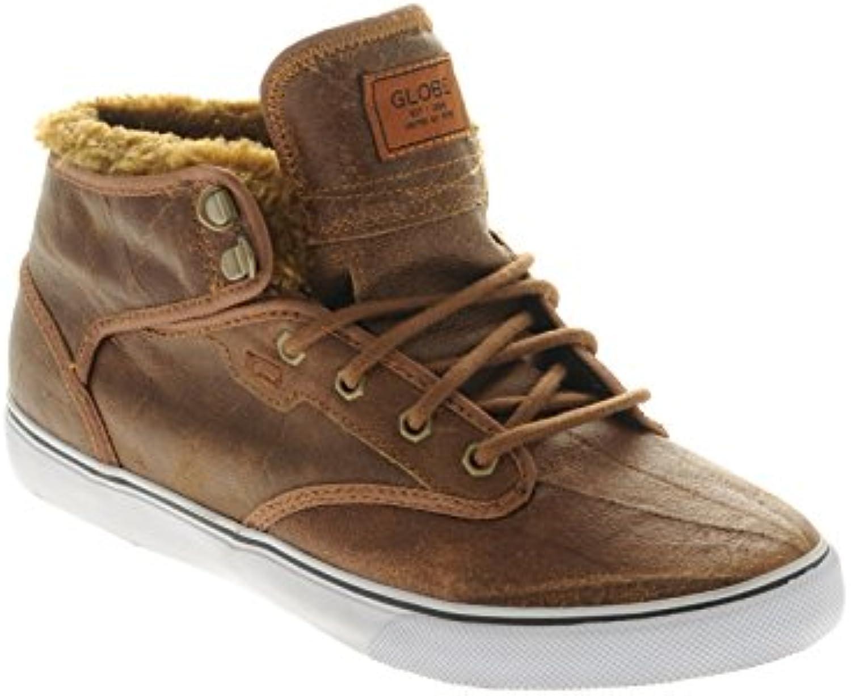 d9408326848ce la fourrure brun en détresse globe chaussures chaussures chaussures motley  nous 7,5 ue 40 royaume uni 6,5 b00kx41wxm parent | Une Grande Variété De  Modèles ...
