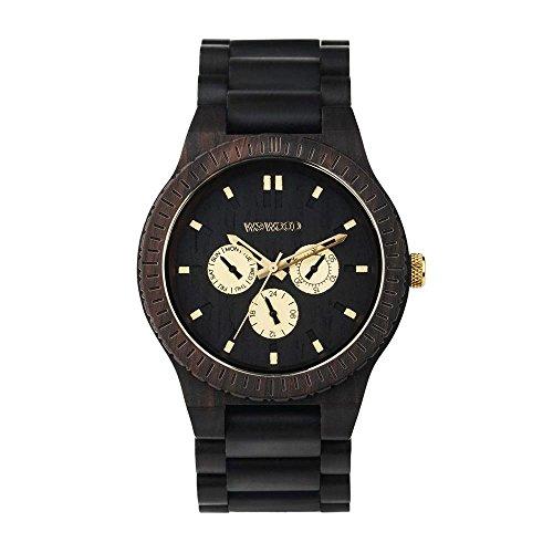 WEWOOD Herren Analog Quarz Smart Watch Armbanduhr mit Holz Armband WW15008 (Uhr Wewood)