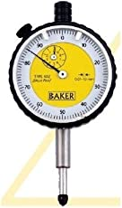 Baker Stainless Steel Dial Gauge, 5 Mm