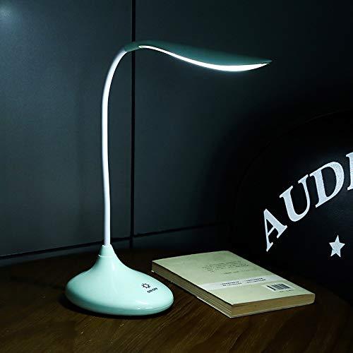 LED lade auge verdunkelbar touch tischlampe lernen warmes licht lesen nachttischlampe cyan 140mm * 130mm * 205mm