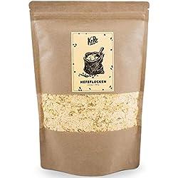 KoRo - Hefeflocken 250 g - Vegane, Nährstoffreiche Nährhefeflocken aus Melasse, Gewürz mit Käse Geschmack, Käseersatz