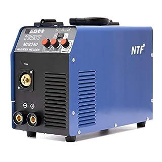 MIG-250 Inverter Schweißgerät MIG MAG Schweißgerät Schutzgas + E-Hand IGBT 250 Amper 230V