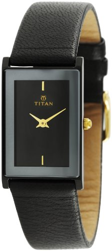 Titan Classique Analog Black Dial Men's Watch - NE291NL02