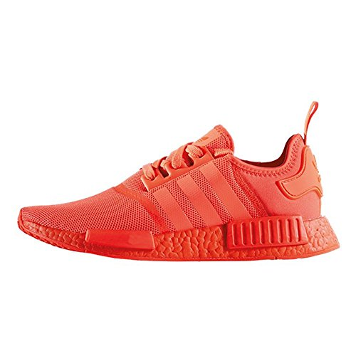 Men Womens R1 Mesh Solar Red Fashion Sneakers