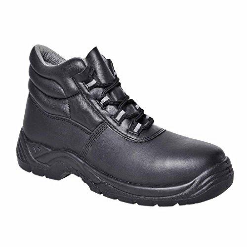 SUW–Compositelite Arbeit Safety Ankle Workwear Boot S1P, EU 41 - UK 7, schwarz, 1 schwarz