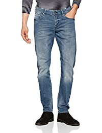 Scotch & Soda Ralston-Moonshine Blue, Slim (Coupe Étroite, Jambe Ajustée) Homme