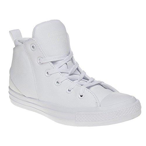Converse Mandrini 553379C CT AS Bianco Bianco Sloane pelle