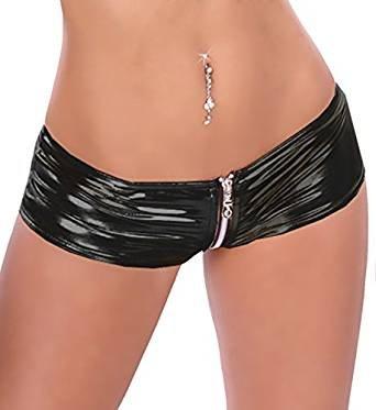 Sexy GoGo Hot Pants - Schwarz HO5 - Berry Belle - Katy (One Size (34-40 EU))