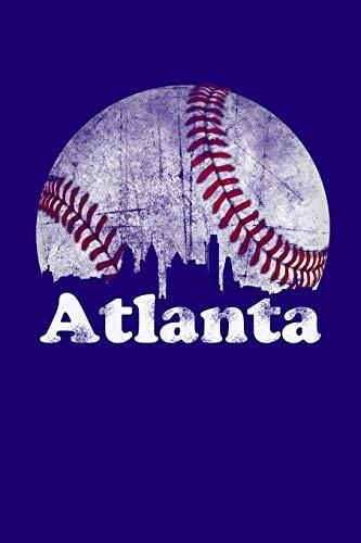 Atlanta: Downtown Atlanta Journal (Atlanta Baseball Notebook) (Wallet Braves)
