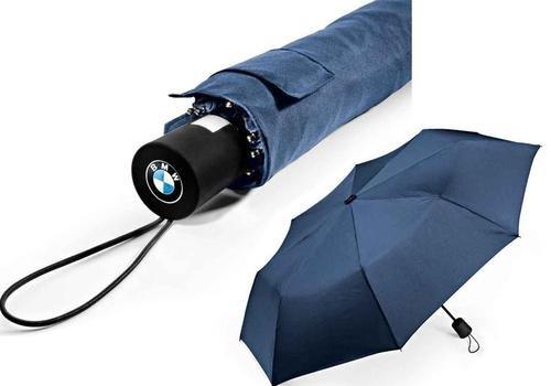 BMW original parapluie de poche picolo (bleu marine)