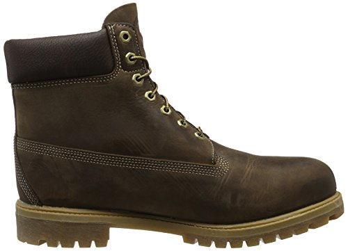 Timberland 6in premium boot, Chaussures montantes homme Marron (Brown Burnished Full Grain)