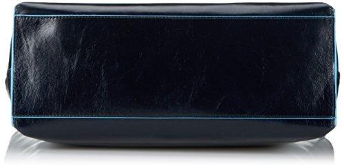 Piquadro Shopper Blu Quadrato Con Ipad Air / Pro 9, 7-fach 35, 5 Cm Blau