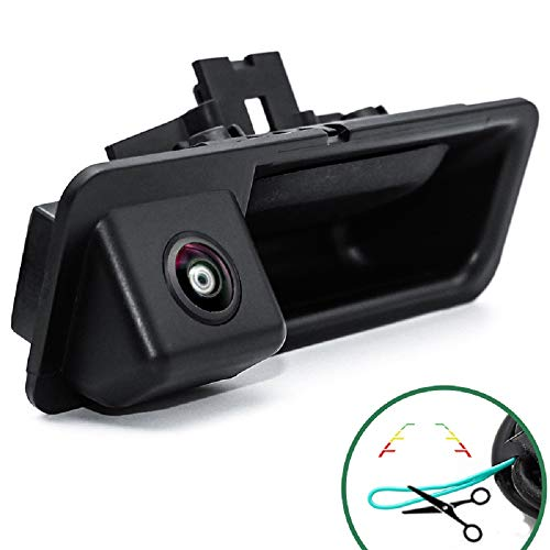 Rückfahrkamera in Griffleiste/Griffmulde Einparkhilfe Nachtsicht für BMW E82 E88 E84 E90 E91 E92 E93 E60 E61 E70 BMW 3er F30 5er F10 F11 X3 F25 (Model A=110x40 mm (with Switch Button))