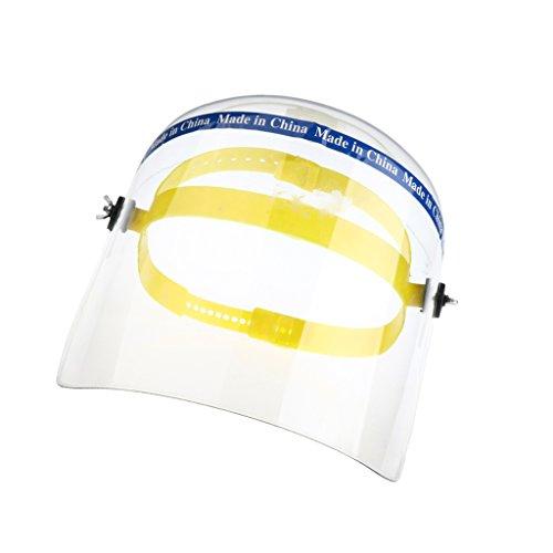 hweißhelm Hut Voll Visier Hut Visier für Helm Kopfschutz - klar ()