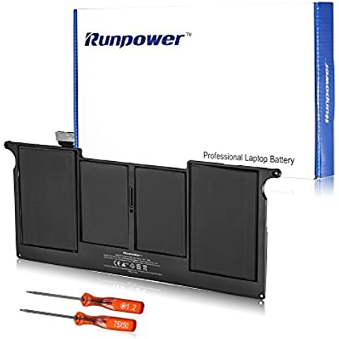 Runpower Nueva batería del ordenador portátil para Apple A1406 A1495 de Macbook Air de 11