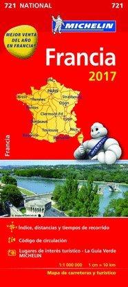 Mapa National Francia par  Varios autores