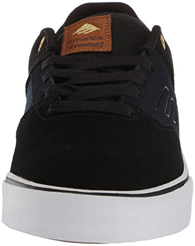 Emerica The Reynolds Low Vulc, Chaussures de skateboard homme Black Navy