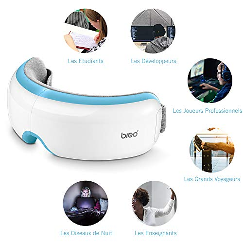 Zoom IMG-1 breo dispositivo di massaggio oculare