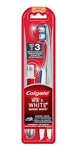 Colgate Max White Expert Cepillo y Lápiz Blanqueador - 1 Cepillo